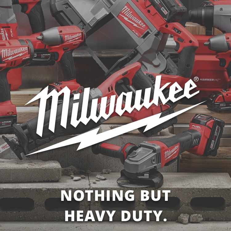 More about Milwaukee power tools at DeWeese