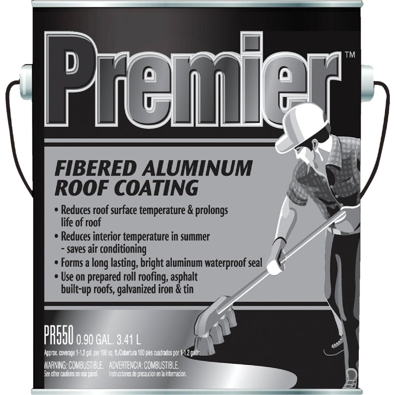 Premier 1 Gal. Fibered Aluminum Roof Coating Image 1