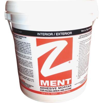 Z-MENT White 1 Gal. Brick & Stone Adhesive Mortar