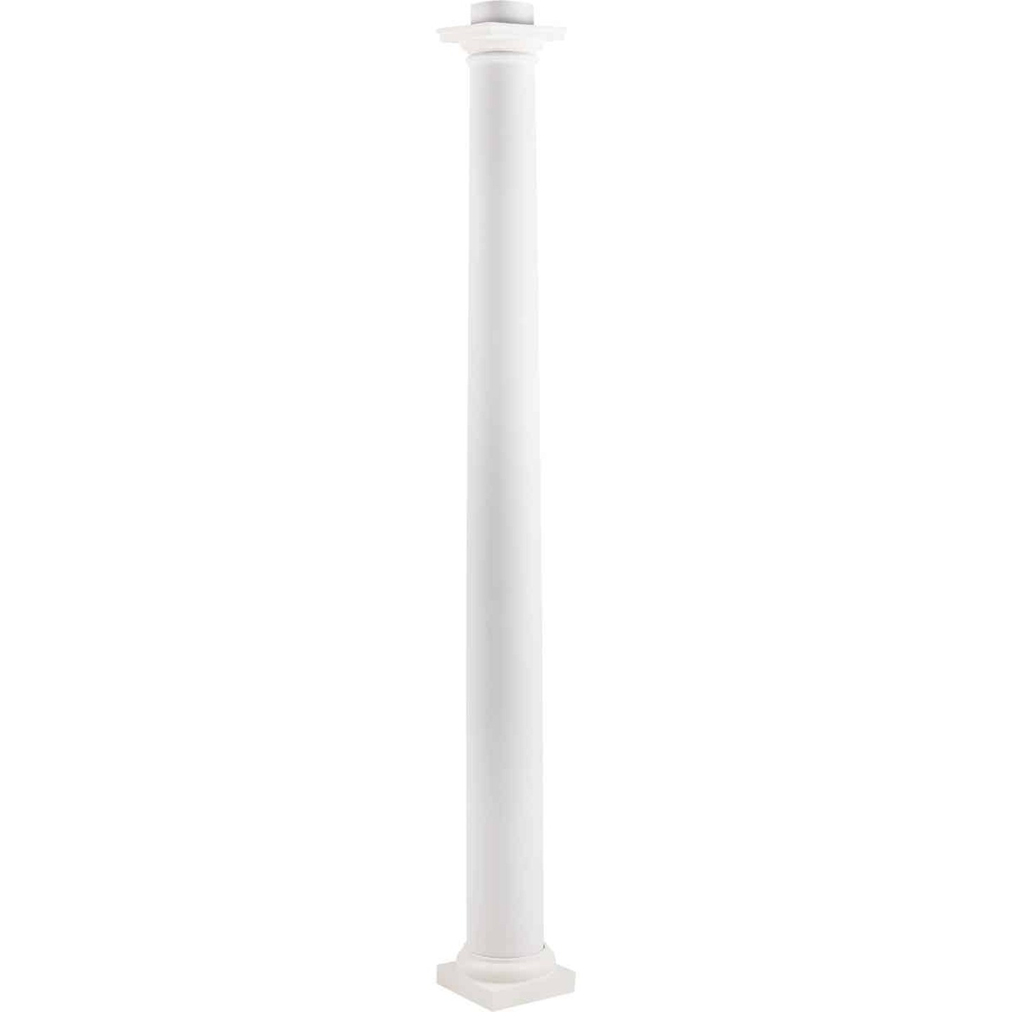 Crown Column 8 In. x 8 Ft. Unfinished Round Fiberglass Column Image 5