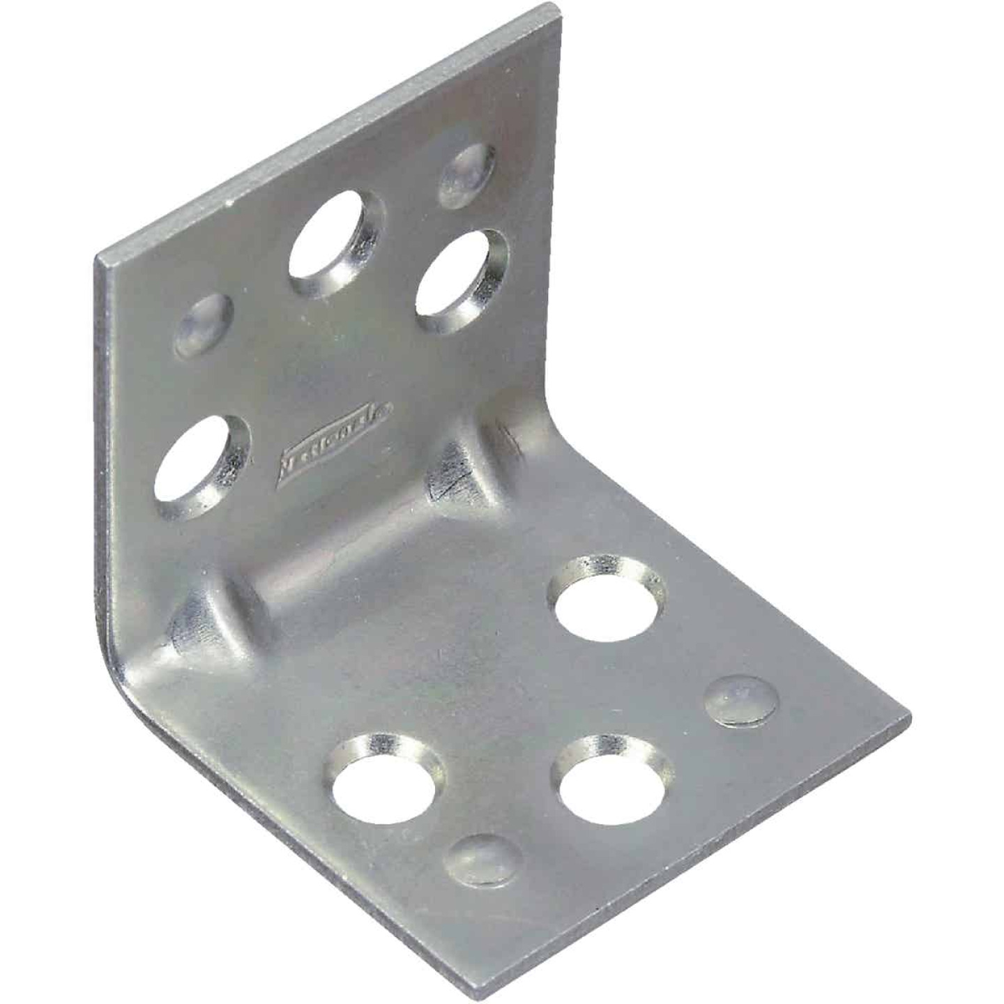 National Catalog V121 1-1/2 In. x 1-1/2 In. Double Wide Zinc Corner Brace Image 1