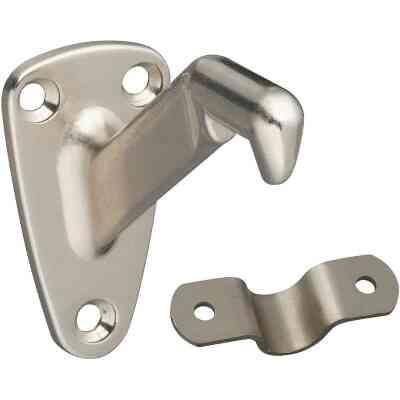 National Gallery Series Satin Nickel Handrail Bracket