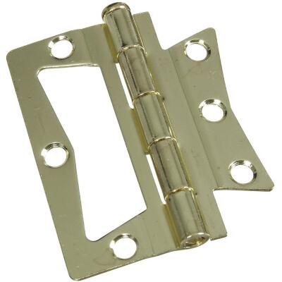 National 3 In. x 3 In. Non-Mortise Hinge (2 Count)