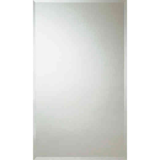 Zenith Frameless Beveled 16 In. W x 26 In. H x 4-1/2 In. D Single Mirror Surface/Recess Mount Medicine Cabinet