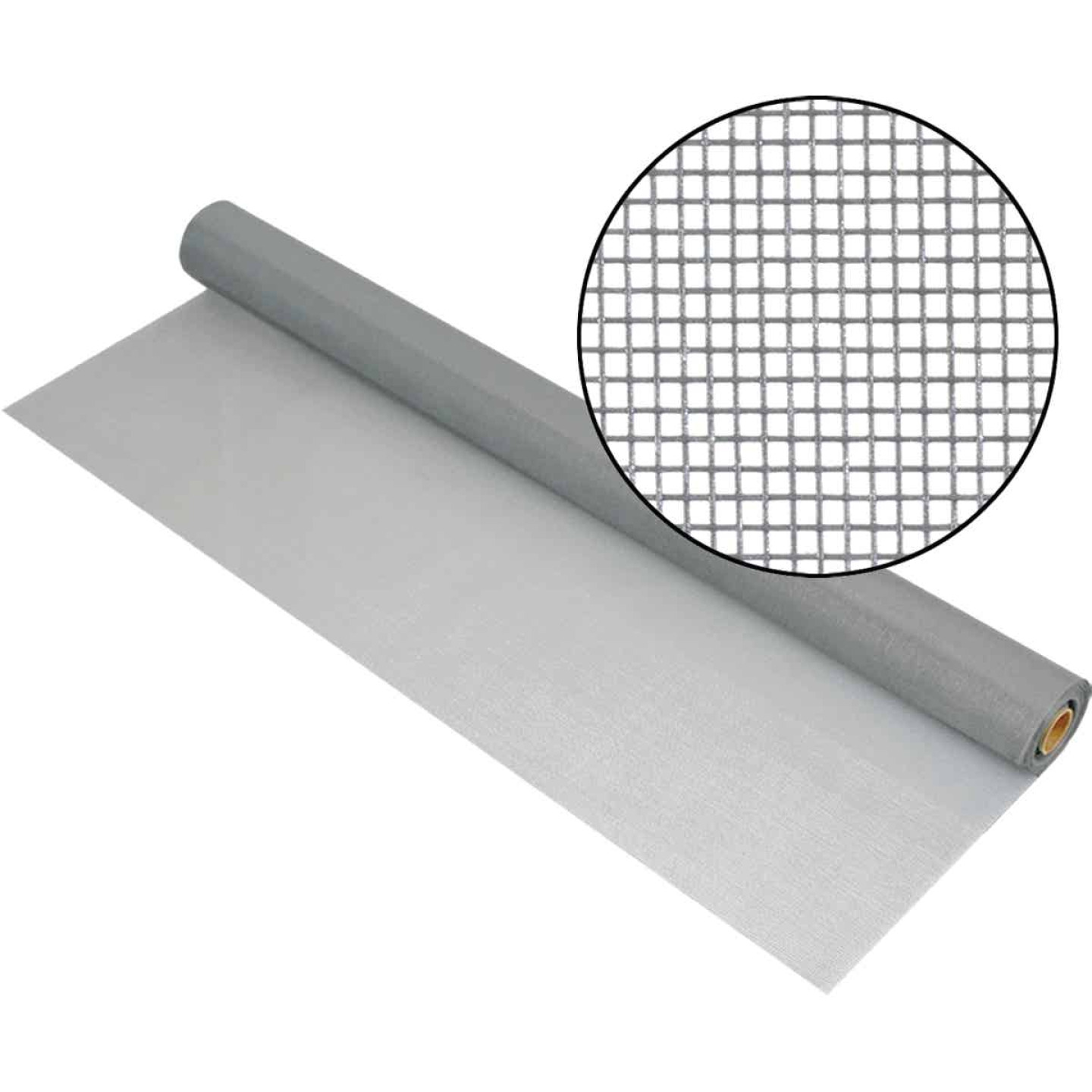 Phifer 32 In. x 100 Ft. Gray Fiberglass Mesh Screen Cloth Image 1