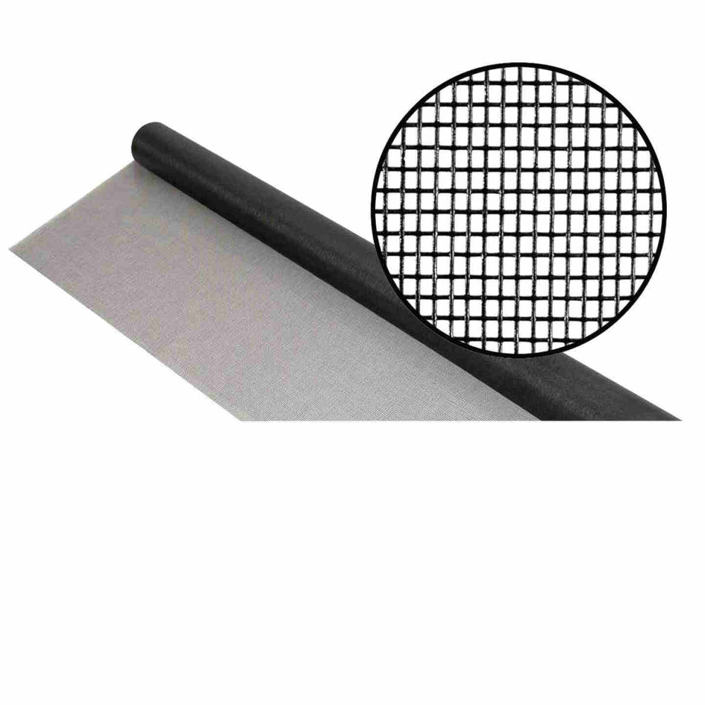 Phifer 24 In. x 100 Ft. Charcoal Fiberglass Mesh Screen Cloth Image 1