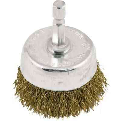 Do it 1-1/2 In. Coarse Drill-Mounted Wire Brush
