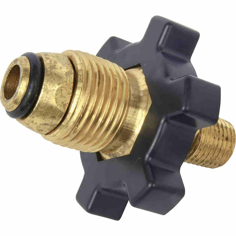 MR. HEATER Brass POL x 1/4 In. Male LP Excess Flow Regulator Image 1
