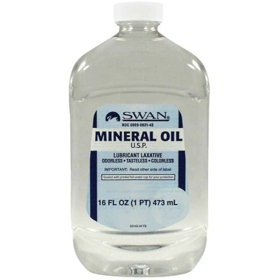 Swan 16 Oz. Tasteless Mineral Oil