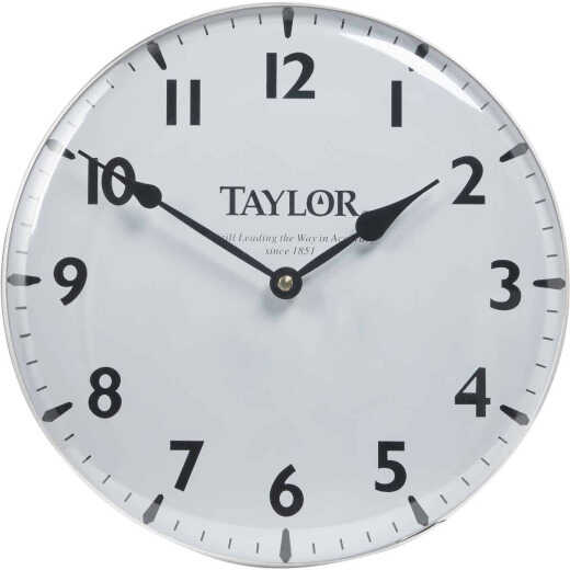 Taylor Vintage Collection Patio Wall Clock
