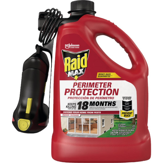 Raid Max Perimeter Protection 1 Gal. Ready To Use Trigger Spray Insect Killer