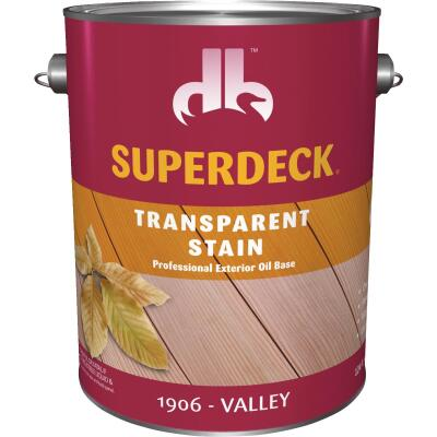 Duckback SUPERDECK Transparent Exterior Stain, Valley, 1 Gal.